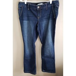 Torrid Bootcut Distressed Jeans- Size 16